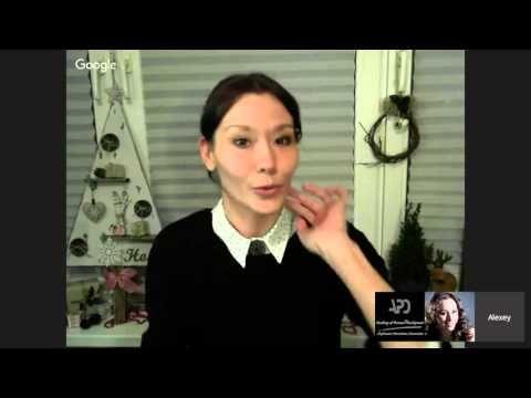 Новогодние встречи Юлия Герман - YouTube