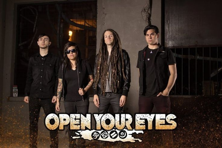 """OPEN YOUR EYES Working with Brandon Saller (Atreyu) on Upcoming Album 'Truth or Consequence' – OPEN YOUR EYES Working with Brandon Saller (Atreyu) on Upcoming Album 'Truth or Consequence'; LP Is Band's First with New Drummer Sandra Alva (Ex. Black Veil Brides); First Single """"Stay Alive"""" (Feat. Craig Mabbitt of Escape The... #brandonsallerofatreyu #openyoureyes #truthorconsequence"""