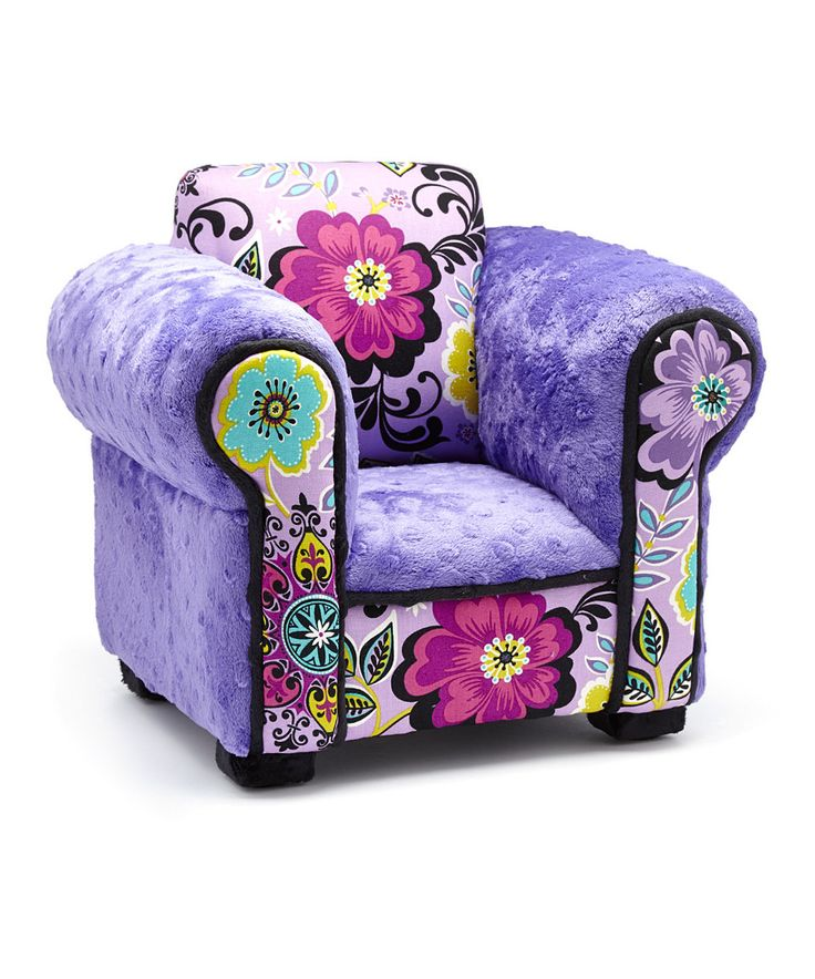 This Floral Chair for 18'' Doll by Creative Kid Chairs is perfect! #zulilyfinds