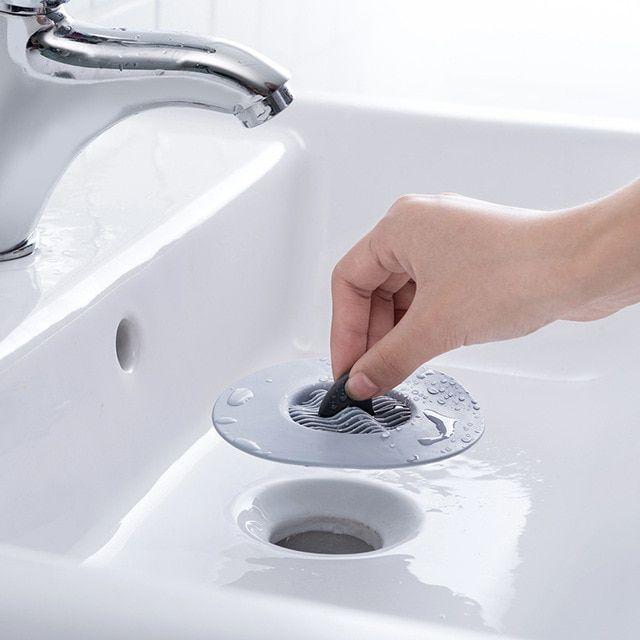 1pc Kitchen Water Sink Filter Bathroom Bathtub Strainer Hair Garbage Drain Filter Trap Toilet Colanders Sewer Floor Strainer Rev Sink Sink Drain Bathtub Shower