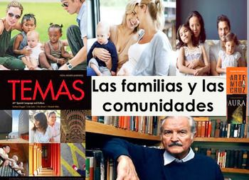 """Supplement PPT Presentation for the AP SPANISH UNIT. """"Las familias y las comunidades"""". Basically a pacer for the entire unit on Families and Communities for AP Spanish Language and Culture. 169 pages long! PowerPoint supplement for any lesson on Families and Communities in Latin America and Spain."""