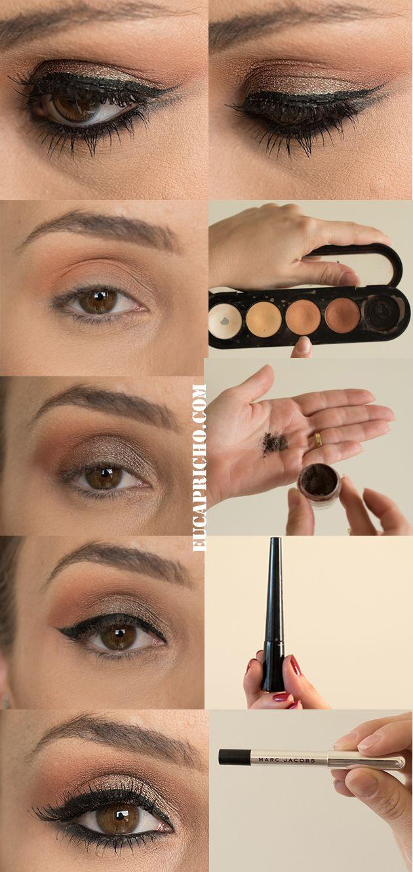 salve no seu computador esse tutorial de maquiagem completo. Luiza Gomes