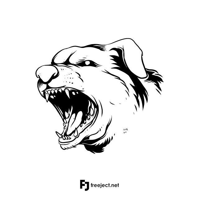 Freeject Net Free Download Dog Head Illustration Png Jpeg F Illustration Free Graphic Design Free Download Photoshop