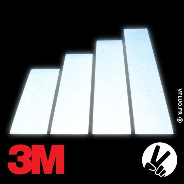 Bandes 3M™ - Tissu adhésif rétro réfléchissant