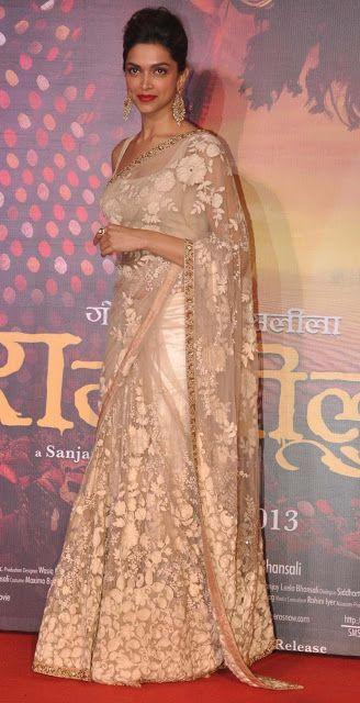 Deepika Padukone Latest Hot Stills at Ramleela Movie First Look Launch - Deepika Padukone - Zimbio