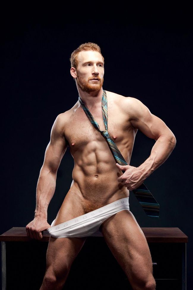 Men hot redhead