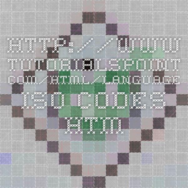 http://www.tutorialspoint.com/html/language_iso_codes.htm