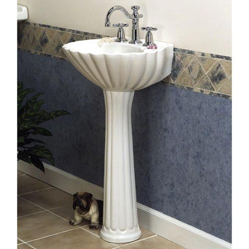 Small Pedestal Basin : small pedestal sink House stuff. Pinterest Small pedestal sink ...