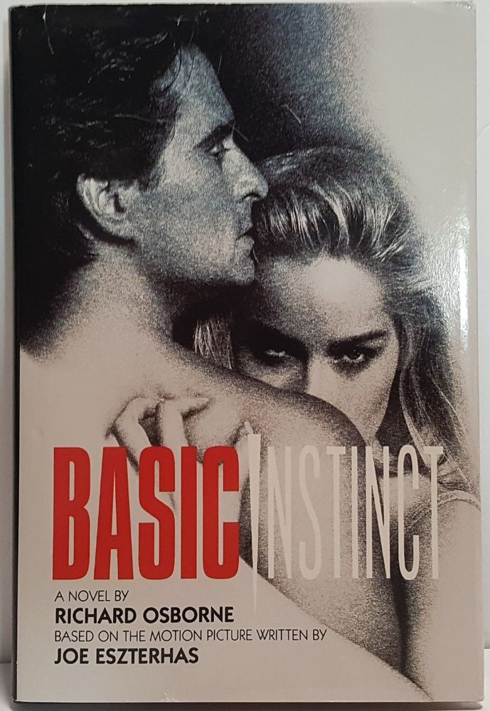 Basic Instinct Novel Richard Osborne Hardcover Book Basic Instinct movie tie-in