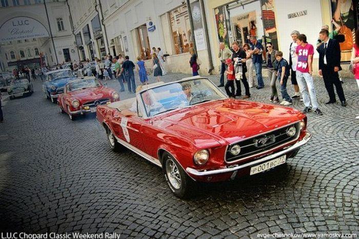 22 мая 2011 года в Москве прошли L.U.C Chopard Classic Weekend   2011 – ежегодное ралли классических автомобилей. Участниками ралли   являются автомобили, выпущенные до 1969 года.