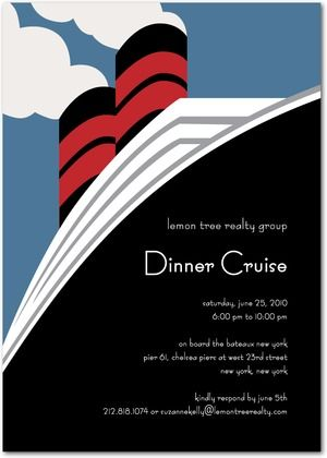 Email  Save to Favorites    Corporate Event Invitations Cruise Ship - Front : Moonstruck  Zoom in  Card Panels  Front  Back  Additional Layouts  Corporate Event Invitations  Cruise Ship  : Moonstruck  Designed by Sarah Hawkins Designs for Tiny Prints