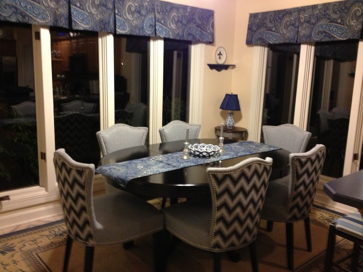 We Love This Dining Room Designed By Jen M From Kentucky The Chevron Print ChairsHome GoodsJennifer