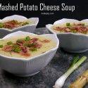 Mashed Potato Cheese Soup