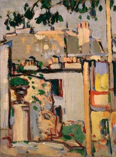 'Boulevard Edgar Quinet, Paris', John Duncan Fergusson, 1907