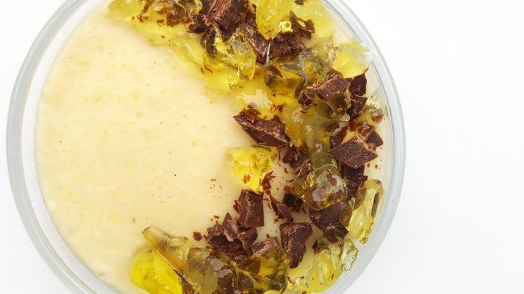 kokosowo-limonkowy pudding jaglany