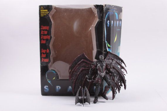 McFarlane's Toys Spawn The Movie - Attack Spawn With Box - Complete by ThePinkRoom