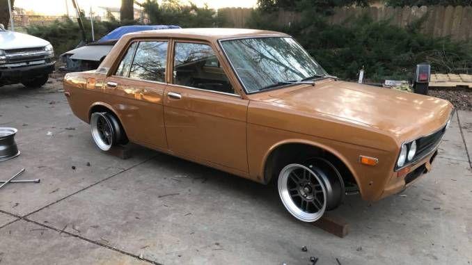 1970 Four Door Chico Ca Datsun 510 Volkswagen 1600 Chico