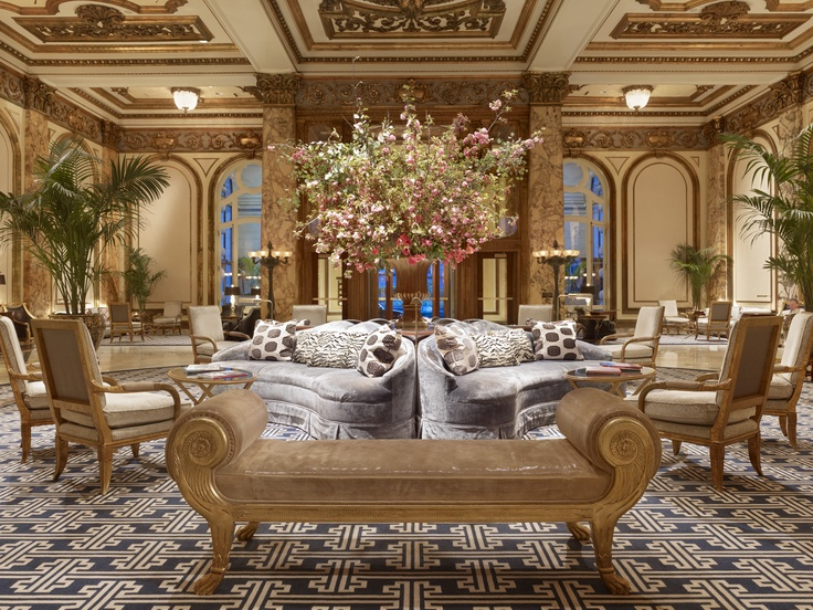 The gorgeous Fairmont Hotel in San Francisco
