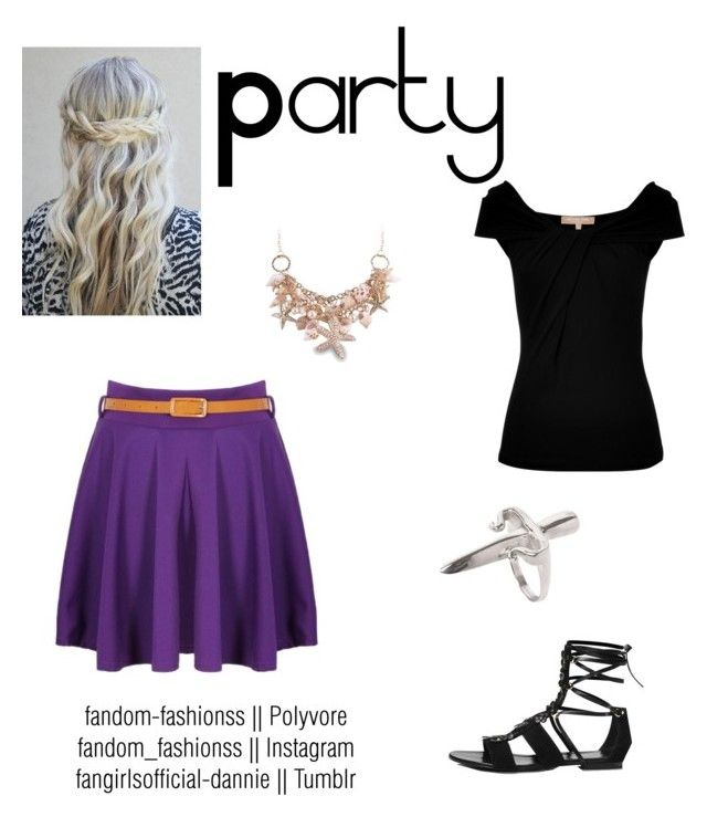 Daughter of Poseidon at a party by fandom-fashionss on Polyvore featuring polyvore, mode, style, Michael Kors, Tamara Mellon, LeiVanKash, fashion, clothing, camphalfblood, Demigod, Poseidon and chb