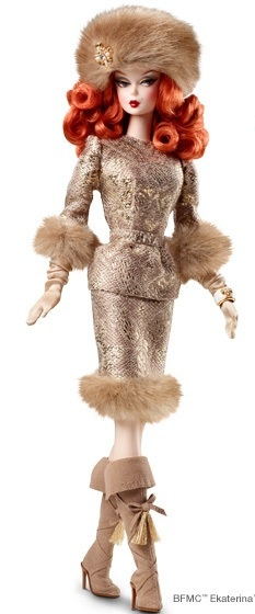 Ekaterina Barbie Doll   Barbie Collector