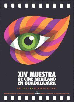 XIV muestra de cine mexicano en Guadalajara, Cartel cultural, Carlos PalleiroXIV muestra de cine mexicano en Guadalajara, Cartel cultural, Carlos Palleiro