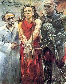 """Tabloul Ecce homo de Lovis Corinth, un exemplu de """"artă degenerată"""""""