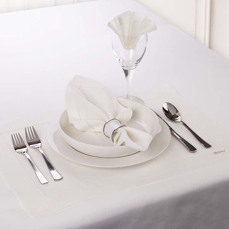 Sferra - Festival White Placemat Set 4pce | Peter's of Kensington