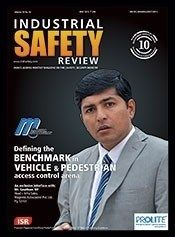 Industrial Safety Review May 2015 Issue- Defining the BENCHMARK in VEHICLE & PEDESTRIAN.  #IndustrialSafetyReview #Vehicle #Pedestrian
