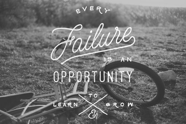 Embracing failure this year hoping it leads to growth.