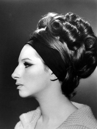 Streisand profile-- one of the MANY types of faces that I imagine existed in the old Egyptian dynasties