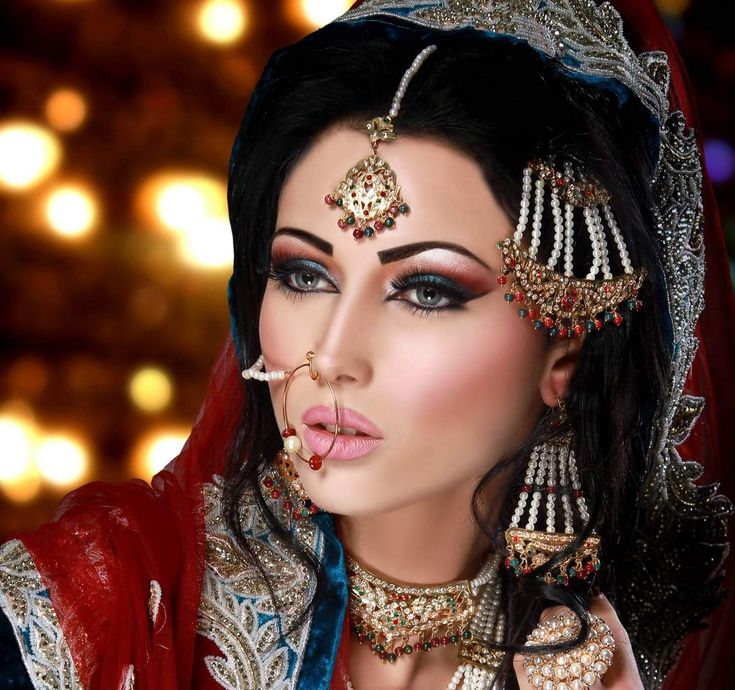 Arabic Bridal Party Wear Makeup Tutorial Trends Contains Middle East Egyptian Turkish Eye Complete Face Ideas Stunning Looks