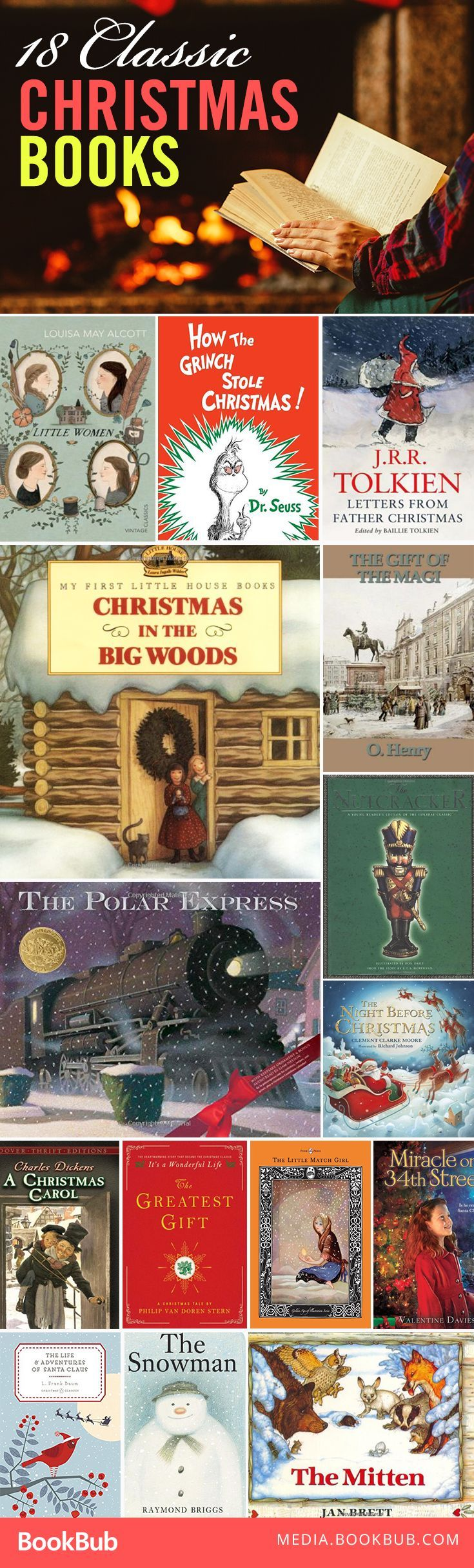 18 classic Christmas stories to cozy up and read this holiday season. 18xmas