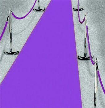 Purple Carpet Runner -- purple theme Bachelorette Party decorations