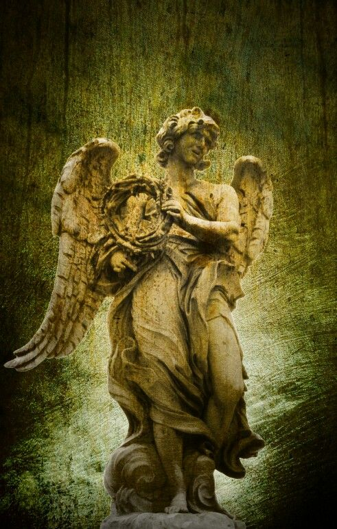 Angel + statue + photo + art 204