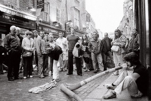 Street Musicians Temple Bar
