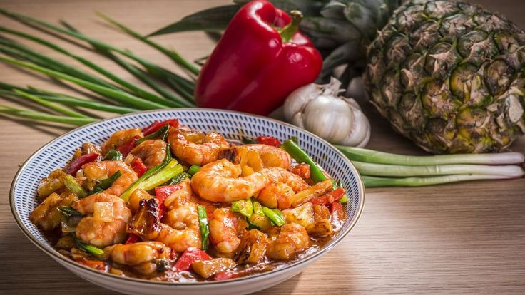 Dish out this fast and simple prawn recipe by Sarah Benjamin from Cooking for Love.