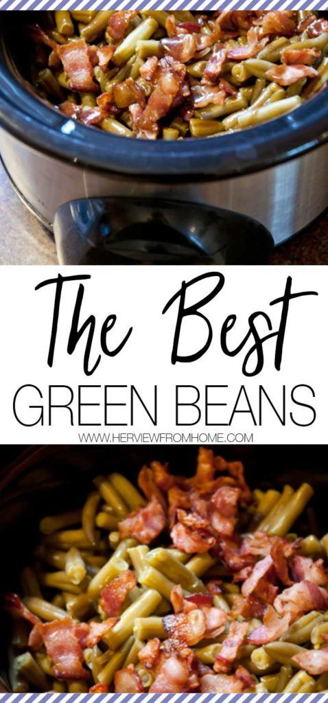 Need the perfect side for your dinner? These are the absolute best green beans ever! Perfect for Christmas Dinner, Thanksgiving and every family get together. Yum!!