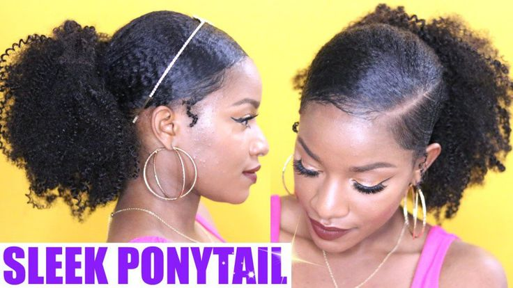 How to | Sleek Low Ponytail on Natural Hair [Video] - http://community.blackhairinformation.com/hairstyle-gallery/natural-hairstyles/sleek-low-ponytail-natural-hair-video/