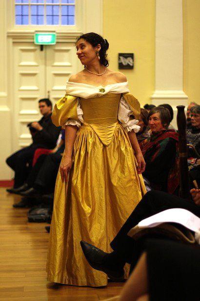 Portfolio: 1660s dress for Ninon de l'Enclos – The Dreamstress