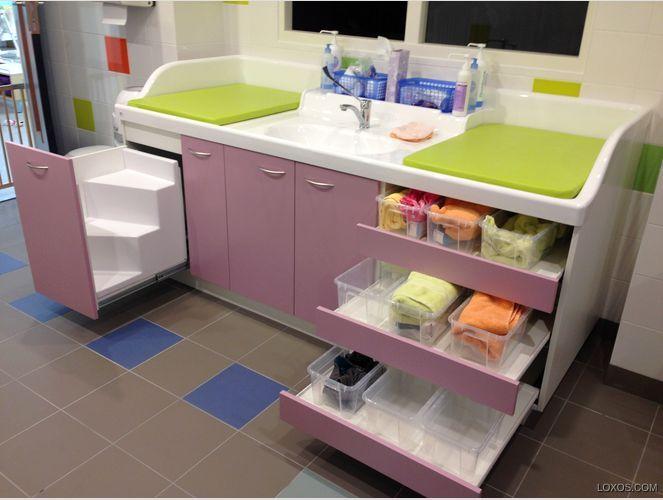 17 besten kindergarten bed bilder auf pinterest innenarchitektur kita r ume und kita. Black Bedroom Furniture Sets. Home Design Ideas