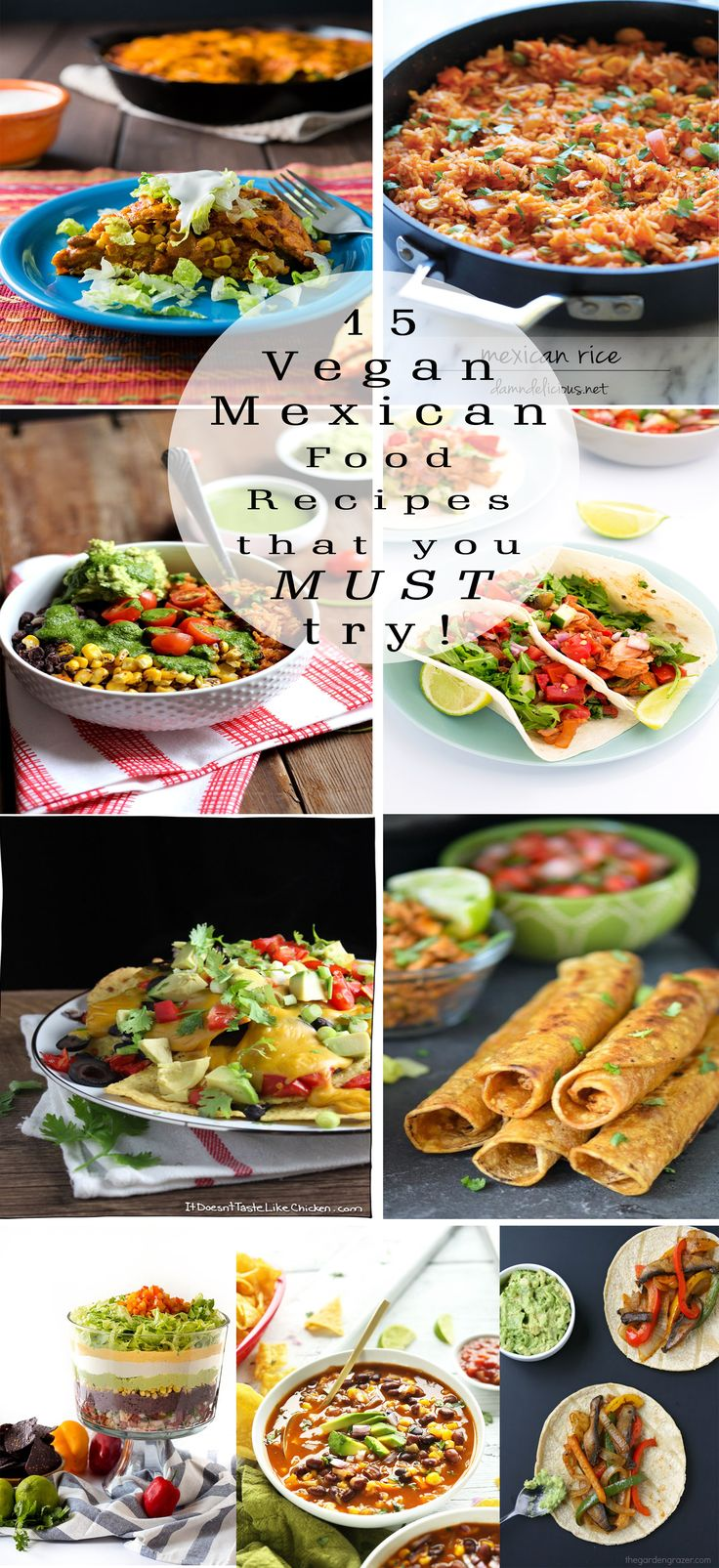 15 Amazing Vegan Mexican Food Recipes