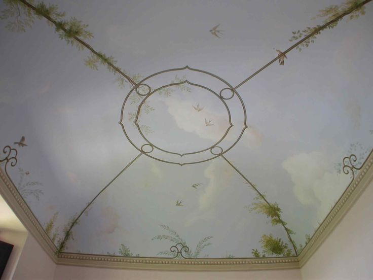 tuscan villa ceiling