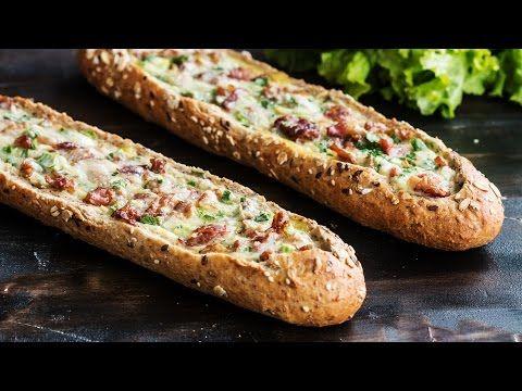 Baconos-hagymás tojás bagettben - Tökéletes vacsi a hétvégére | Femcafe