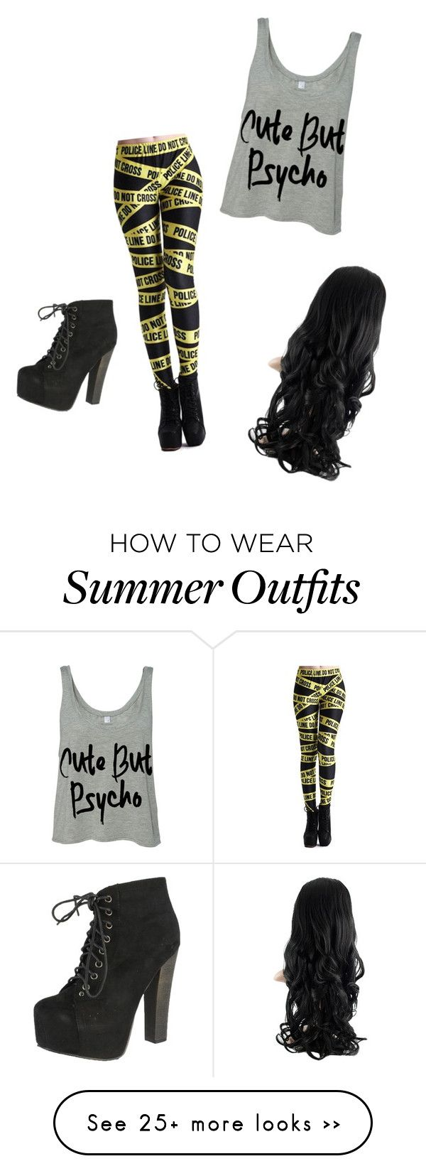 """""""Night in the ally"""" by gab-mccaslin on Polyvore featuring Breckelle's"""