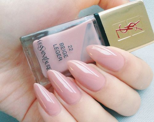 yves saint laurent 22 beige leger nail polish , IG & Pinterest: SLaurenMichele