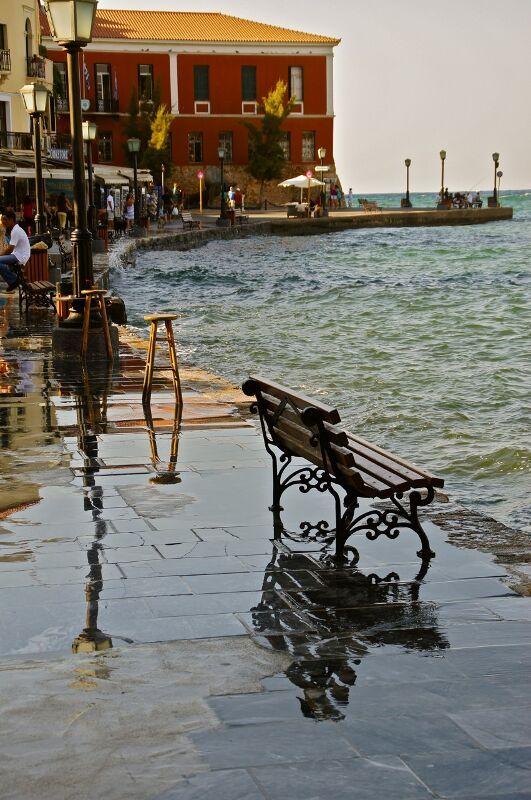 Venetian port of Chania