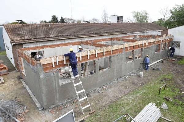 Se construye la primera Escuelas de Oficios en Malvinas Argentinas