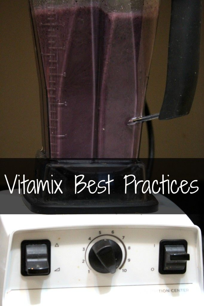 Vitamix best practices: 5 tips for making the most of your Vitamix and using this blender effectively to make green smoothies & more!