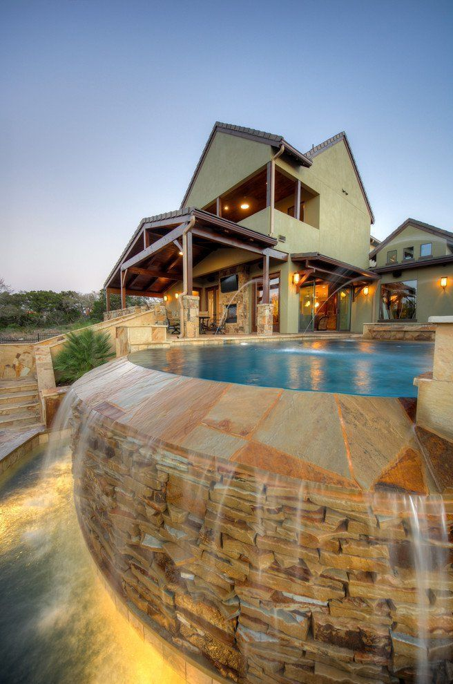 Splendid Rustic Swimming Pool Designs That Offer A Unique Experience With Modern Design Beautiful Cool And Awesome