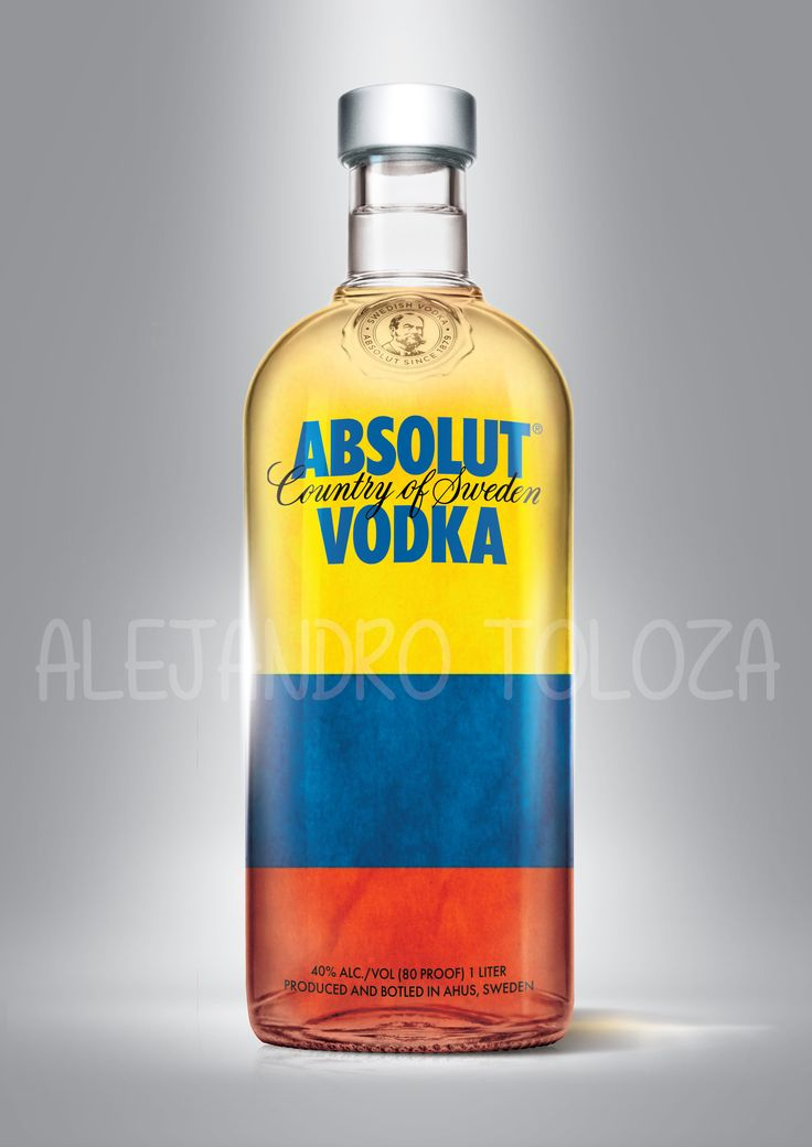 Absolut vodka, Colombia